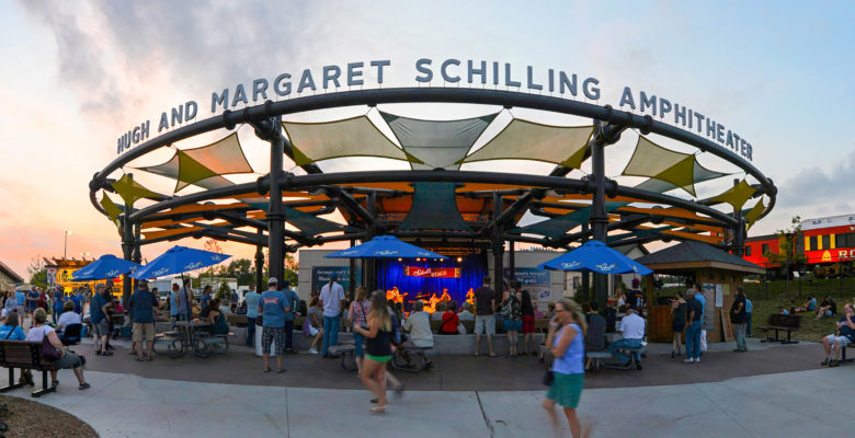 Concert at Hugh and Margaret Schilling Amphitheater